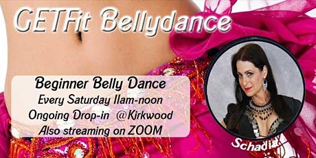 GetFIT Belly Dance - Streaming & In Studio tickets
