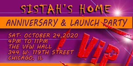 Sistah's Home Anniversary Launch Party tickets
