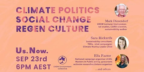 Us Now: Climate Action Webinar tickets