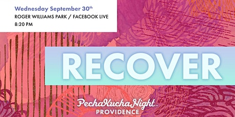 PechaKucha Night # 137 - Recovery tickets