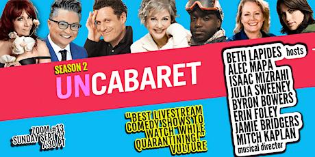 UnCabaret Zoom Edition #13 tickets