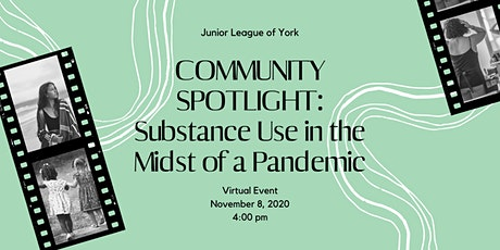 Community Spotlight: Substance Use in the Midst of a Pandemic tickets