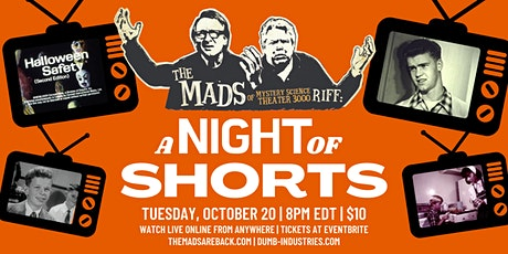 The Mads: A Night of Shorts - Live riffing show with MST3K's The Mads! ingressos