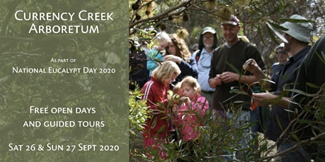 Currency Creek Arboretum open days & guided tours tickets
