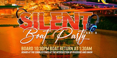 901silent boat party pt.8 tickets