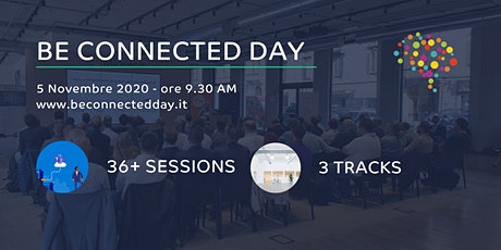 Be Connected day -  5th November - 2020 biglietti