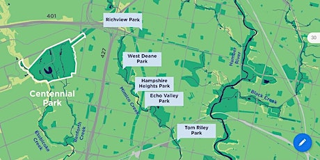 A City Within a Park – Centennial Park & the Etobicoke Creek Watershed tickets