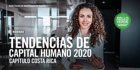 #SELLOVERDE: Tendencias de Capital Humano 2020 | Capítulo Costa Rica: tickets