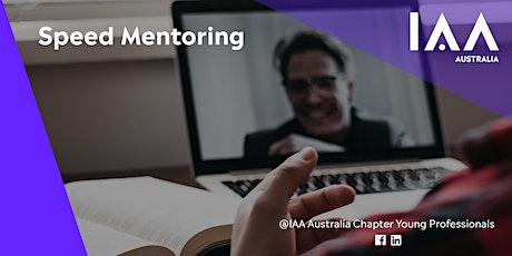 Virtual Speed Mentoring - IAA YP AU tickets