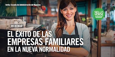 #SELLOVERDE: El éxito de las empresas familiares en la nueva normalidad. entradas