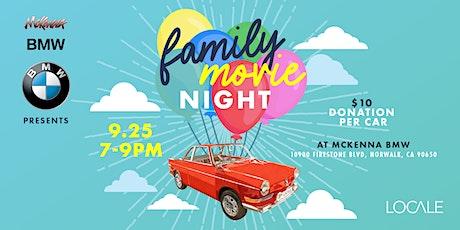 Family Movie Night Drive-In at Mckenna BMW in Norwalk tickets