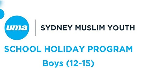 SMY BOYS SCHOOL HOLIDAY PROGRAM 12-15yrs tickets