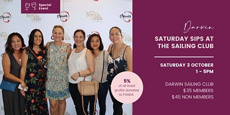 Saturday Sips at the Sailing Club  - Darwin tickets