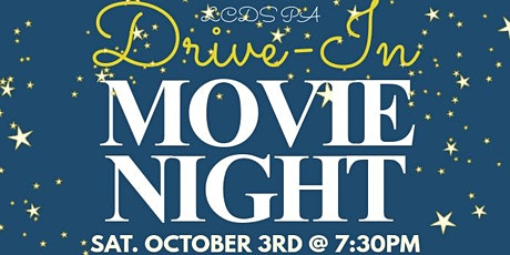LCDS Drive-In Movie Night tickets