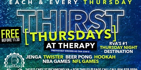 THURSDAYS AT THERAPY tickets