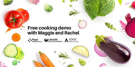 Free Online Health Education Classes | Free Virtual Healthy Cooking Demo tickets