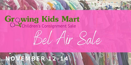 Pop-Up Kids Consignment Sale - Winter 2020 Bel Air tickets