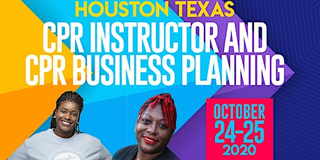 CPR Instructor and Business Planning Training tickets