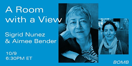 A Room with a View: Sigrid Nunez & Aimee Bender tickets