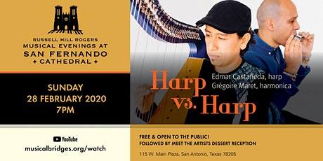 HARP VS. HARP | Musical Evenings at San Fernando Cathedral tickets