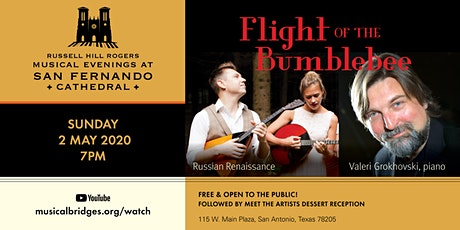 FLIGHT OF THE BUMBLEBEE | Musical Evenings at SF Cathedral (Online) tickets