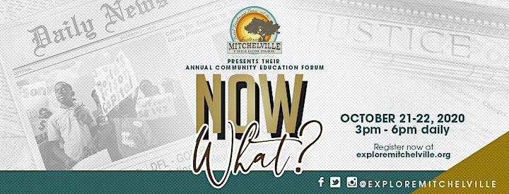 Historic Mitchelville Freedom Park's Anniversary Forum: Now What? image