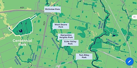 A City Within a Park -- Centennial Park & the Etobicoke Creek Watershed tickets