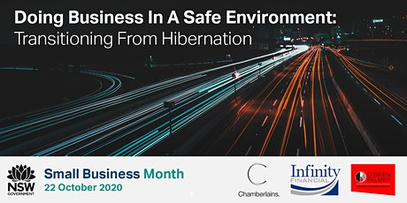 Doing Business In A Safe Environment: Transitioning From Hibernation tickets