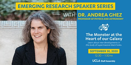 11th Annual Emerging Research Speaker Series ft. Professor Ghez tickets