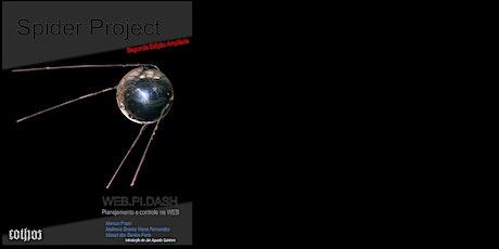 Lançamento Virtual - Livro Spider Project WEB.PI.DASH (segunda edição) ingressos