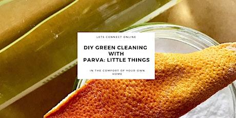 Green Cleaning webinar tickets