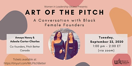Art of the Pitch: A Conversation with Black Female Founders tickets