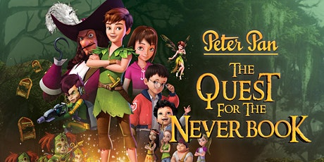 Kanopy Movie Night at the Library – Peter Pan, The Quest for the Never Book tickets