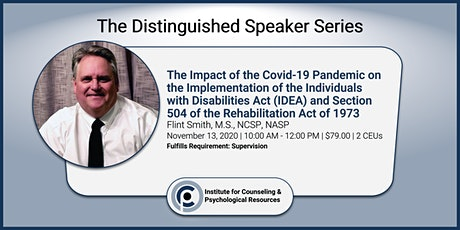 Covid-19: Impact on IDEA and Section 504 of the Rehabilitation Act tickets