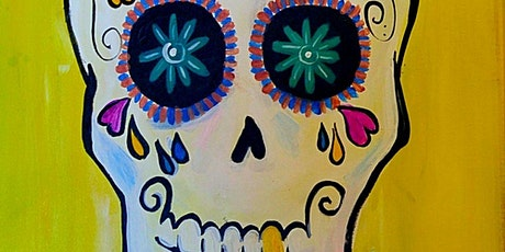 IN STUDIO CLASS  Sugar Skulls Sat Oct 31st 1pm $35 tickets