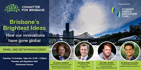 Brisbane's Brightest Ideas – how our innovations have gone global tickets