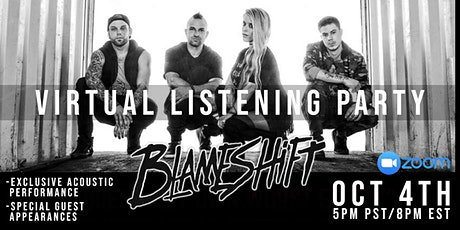 Blameshift Listening Party tickets