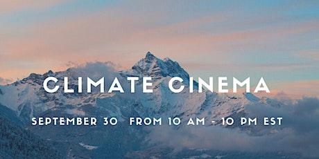 Climate Cinema - a Virtual Film Festival for Impact tickets