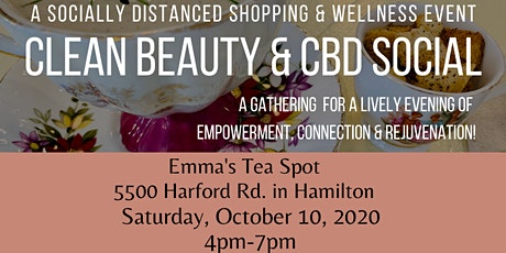 Clean Beauty CBD Social tickets