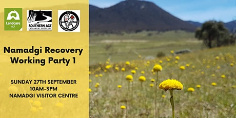 Namadgi Recovery Workparty 1 tickets