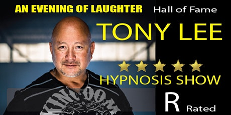 Saint John NB Tony Lee R-Rated Hypnosis  Returns tickets