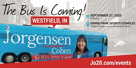 BUS TOUR 2.0 with  Dr. Jo:  Westfield, IN tickets