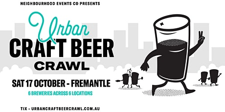 Urban Craft Beer Crawl - Fremantle tickets