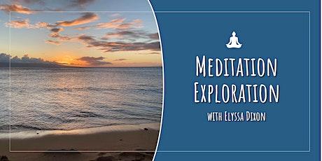 Meditation Exploration (Includes 4 courses) tickets