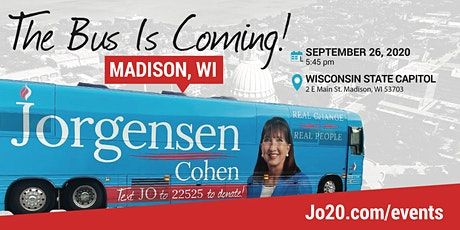 BUS TOUR 2.0 with Dr. Jo:  Madison, WI tickets