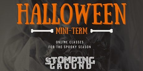 Halloween Special:  Costumes, Make-Up, and Physicality tickets