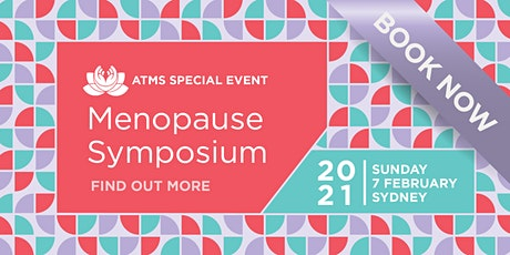 The ATMS  Menopause Symposium - Sydney tickets
