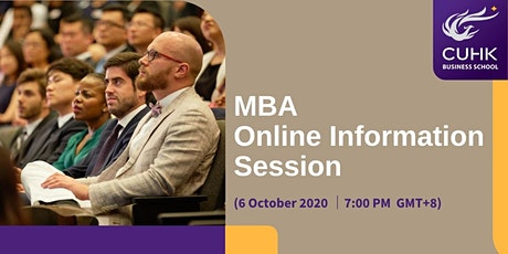 CUHK MBA Online Information Session - Worldwide tickets