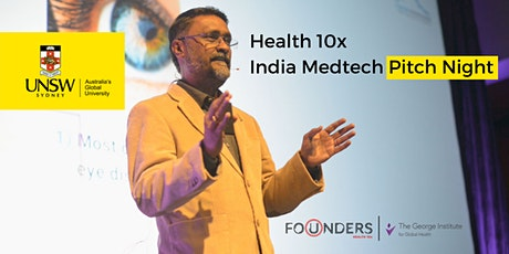 Health 10x: India Virtual Pitch Night tickets