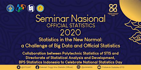 Seminar Nasional Official Statistics 2020 (Online) tickets